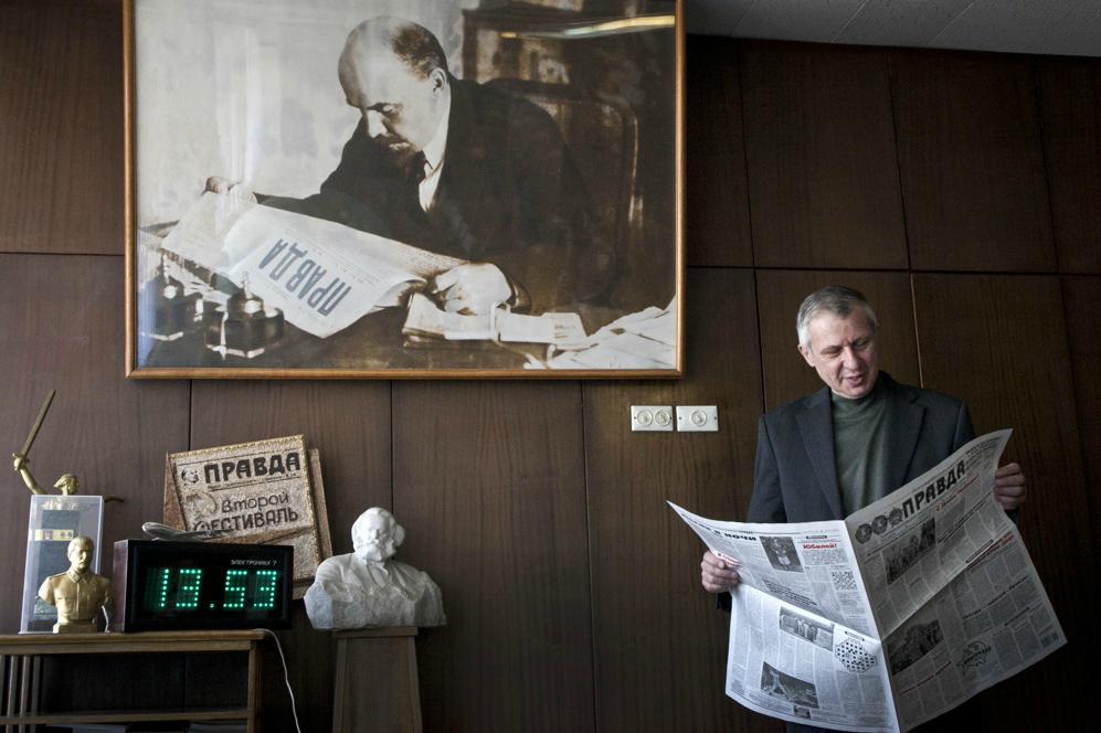 La Pravda, il giornale del Partito Comunista, fu fondato su iniziativa di Lenin