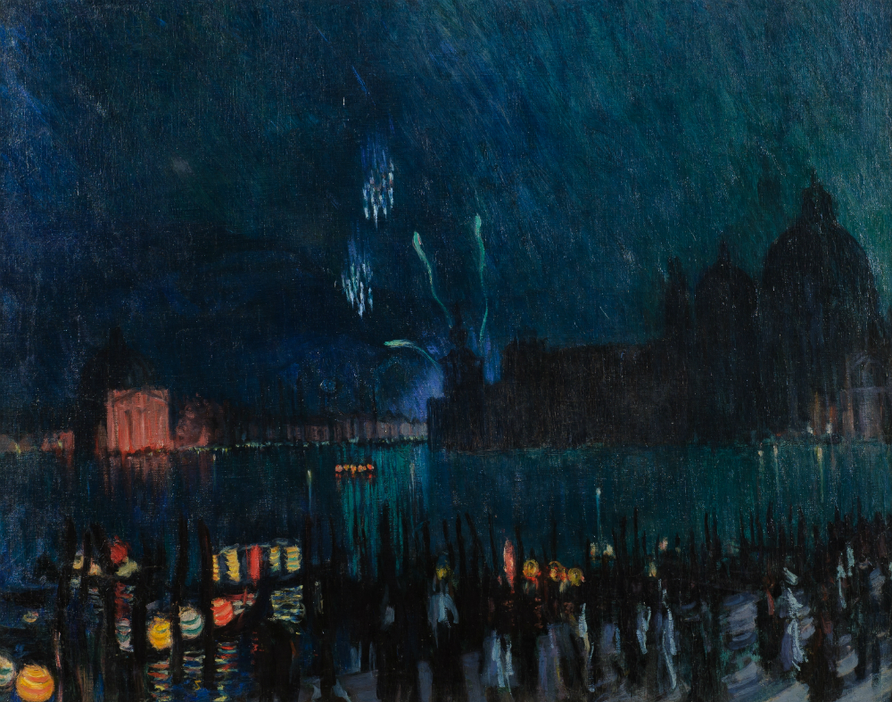 Boris Koustodiev. Venise, 1913