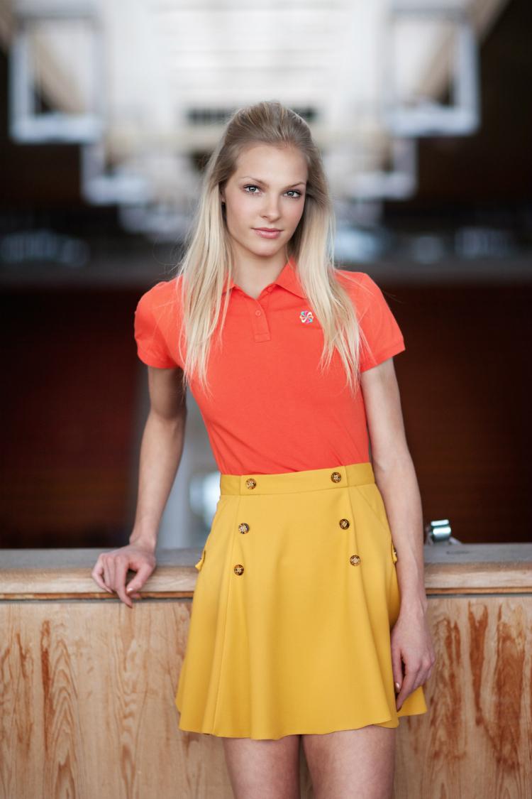 Daria Klishina è un'atleta russa, campionessa di salto in lungo