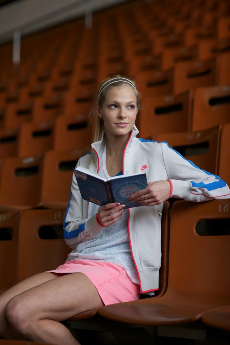 Secondo una votazione online, Daria è stata nominata atleta russa più sexy del 2010