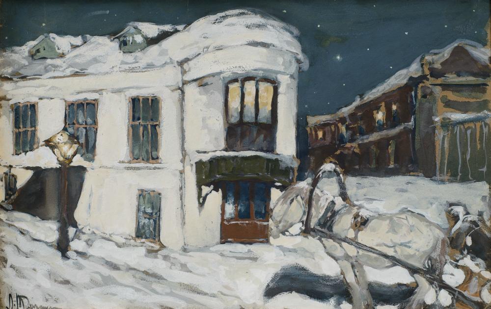 Léonard Tourjanski. Moscou. Samotioka, 1910.
