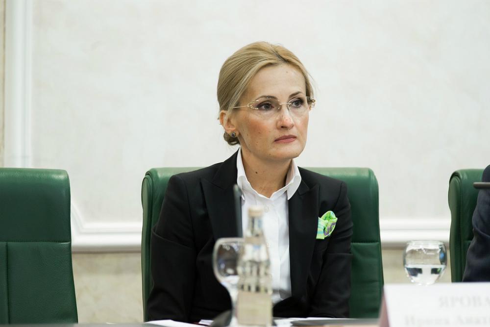 Dal 2011 Irina Yarovaya è a capo del Comitato della Duma per la Sicurezza e la lotta alla corruzione