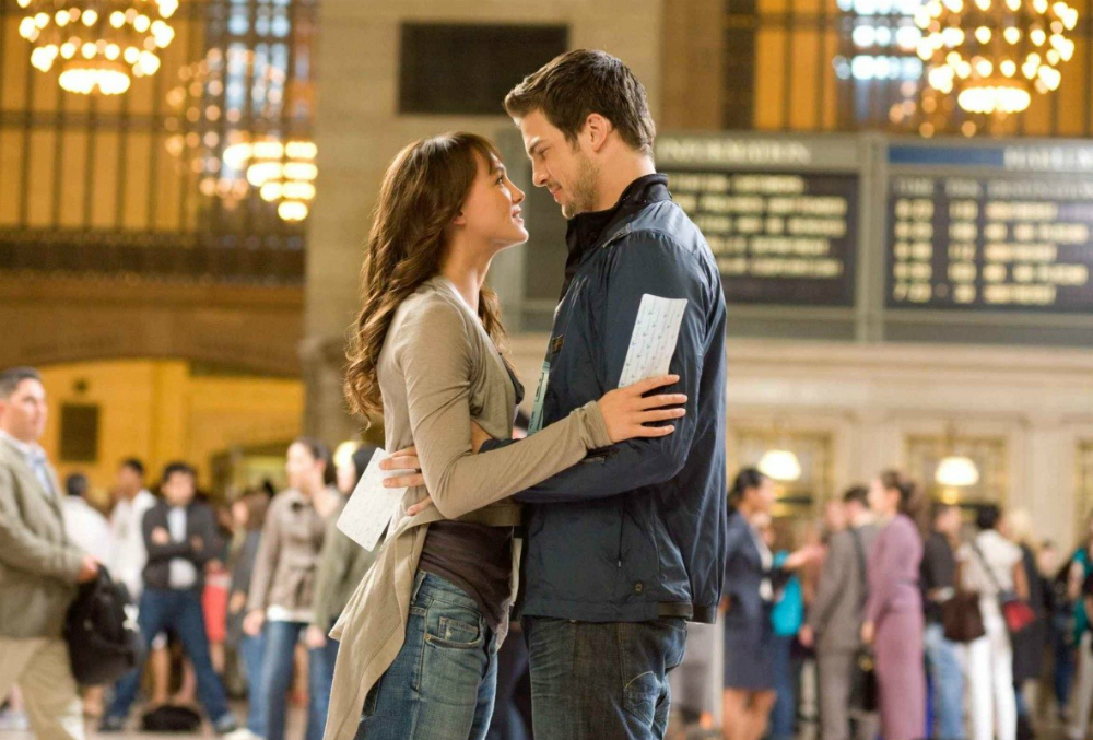 "Una scena del film ""Step Up""."