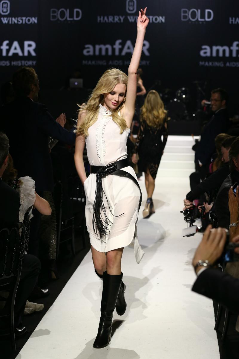 Prvi Nastjin veliki posao bio je angažman na Tjednu mode u New Yorku, gdje je nosila reviju modne kuće Proenza Schouler za proljeće/ljeto 2014.