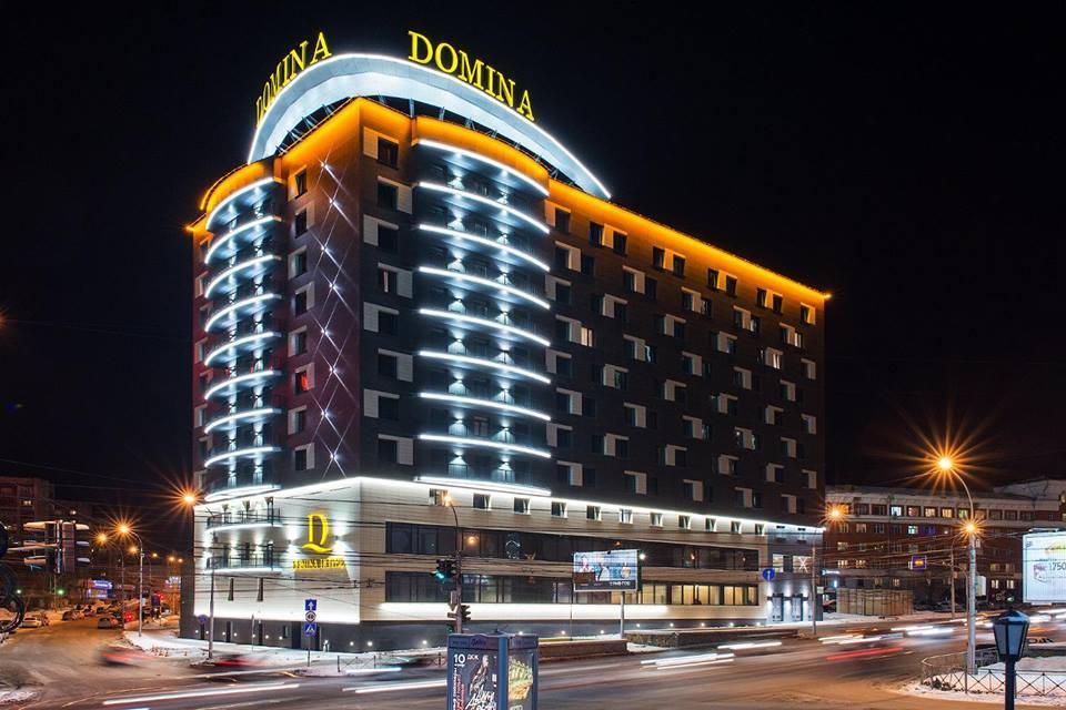 L'hotel della holding italiana Domina a Novosibirsk.