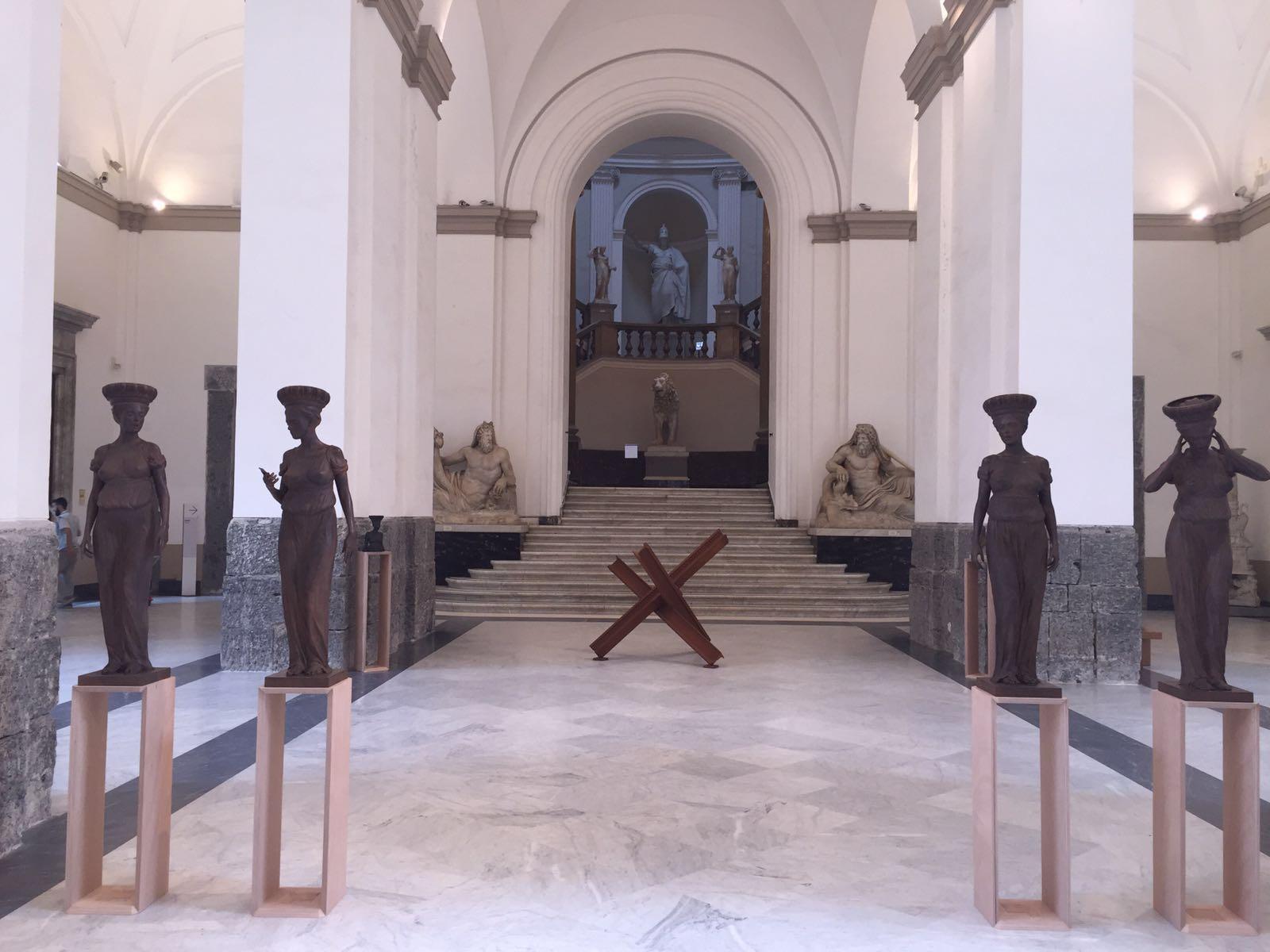 L'ingresso della mostra.