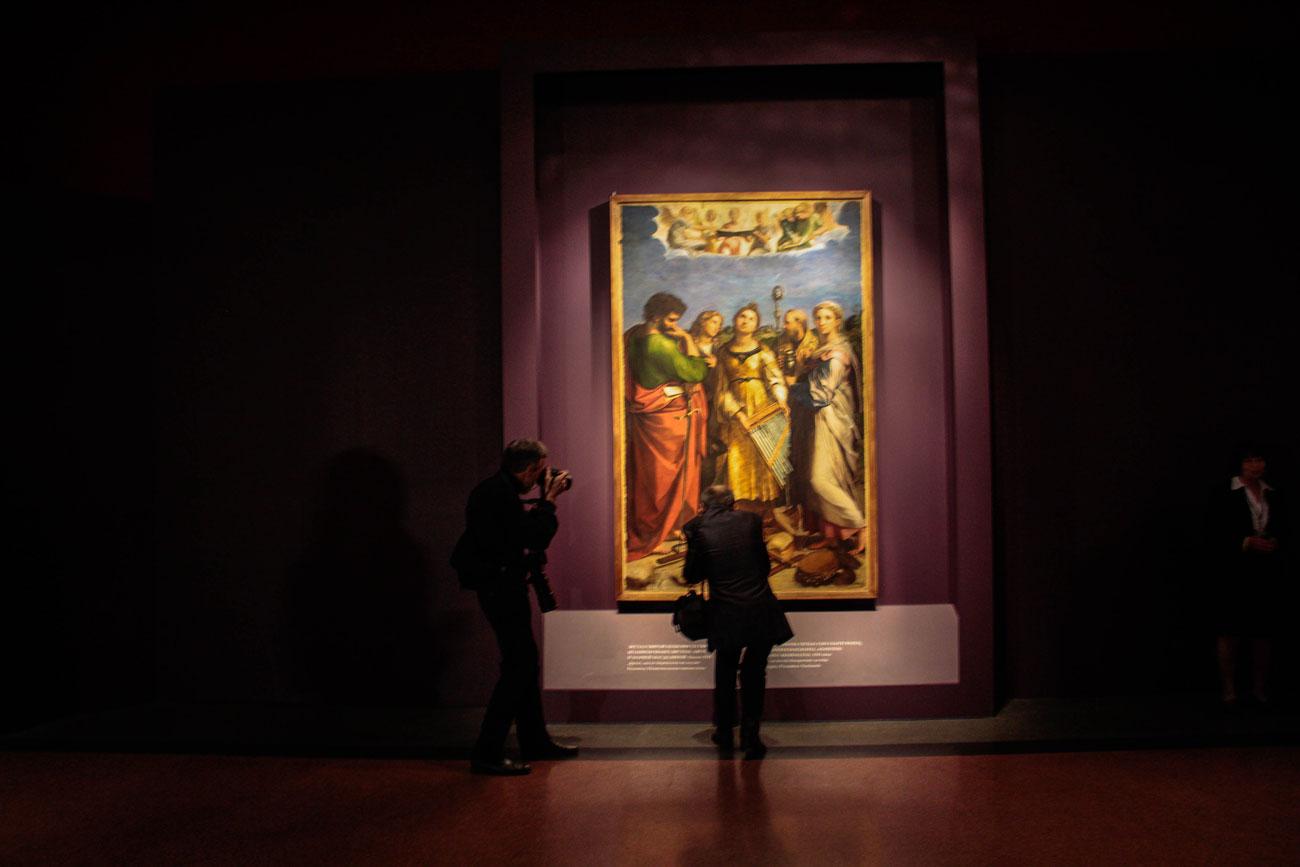 """Così come ha spiegato l'ambasciatore Ragaglini, la mostra """"sarà una pietra miliare"""" della diplomazia culturale e caratterizza i proficui rapporti tra Italia e Russia"""