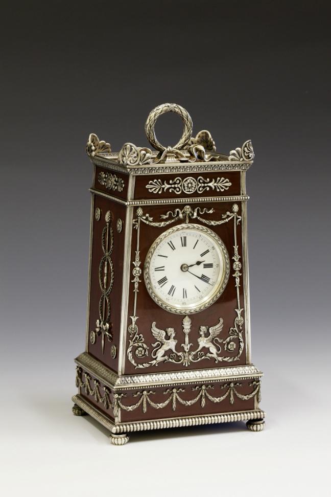 M.E. Perchin. Orologio da tavolo. 1886-1900. Russia, San Pietroburgo, Carl Fabergé\n
