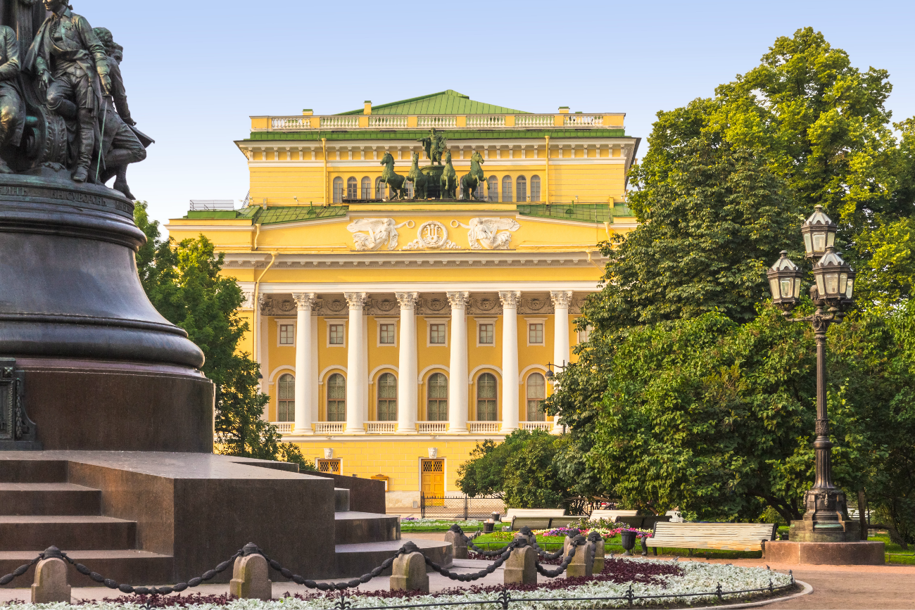 Alexandrinsky Theater in St. Petersburg.