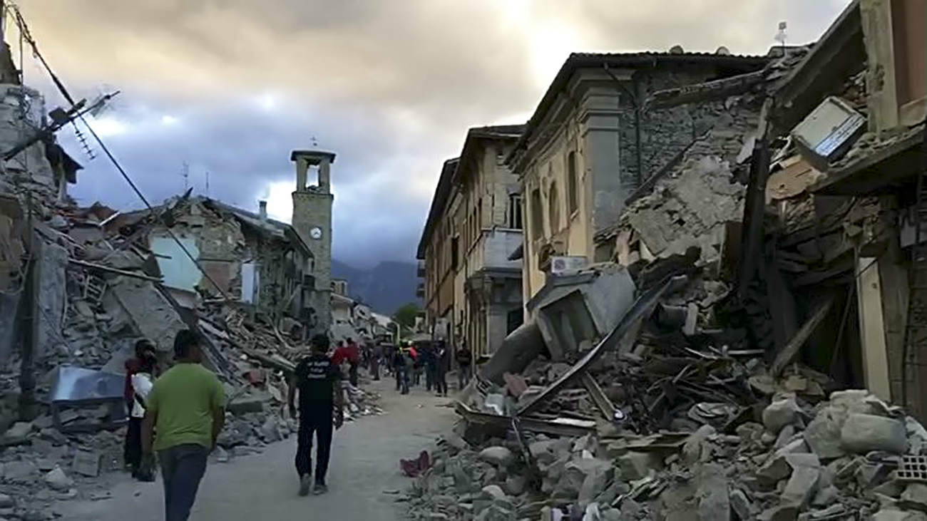 At least 22 people are dead following the major earthquake in Italy.