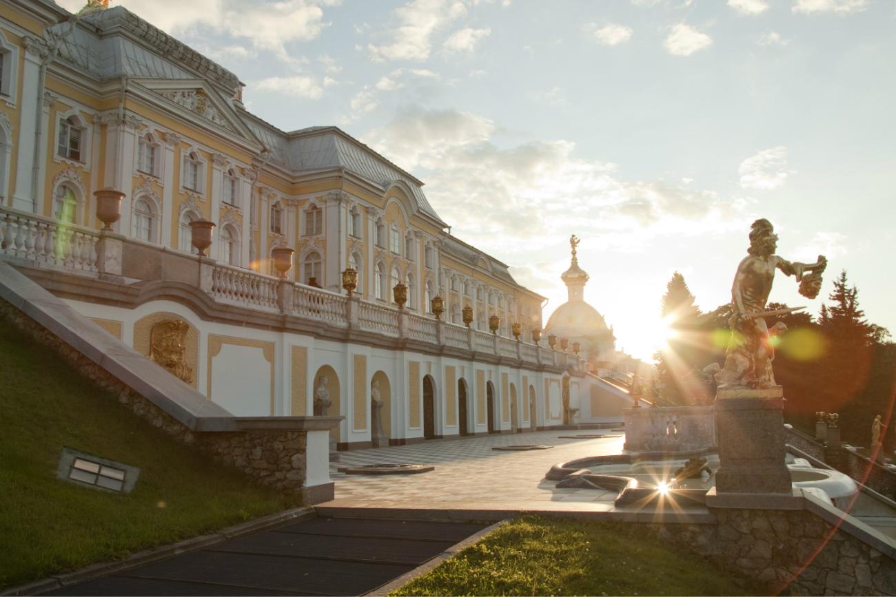 Peterhof, la reggia degli zar sul Golfo di Finlandia.