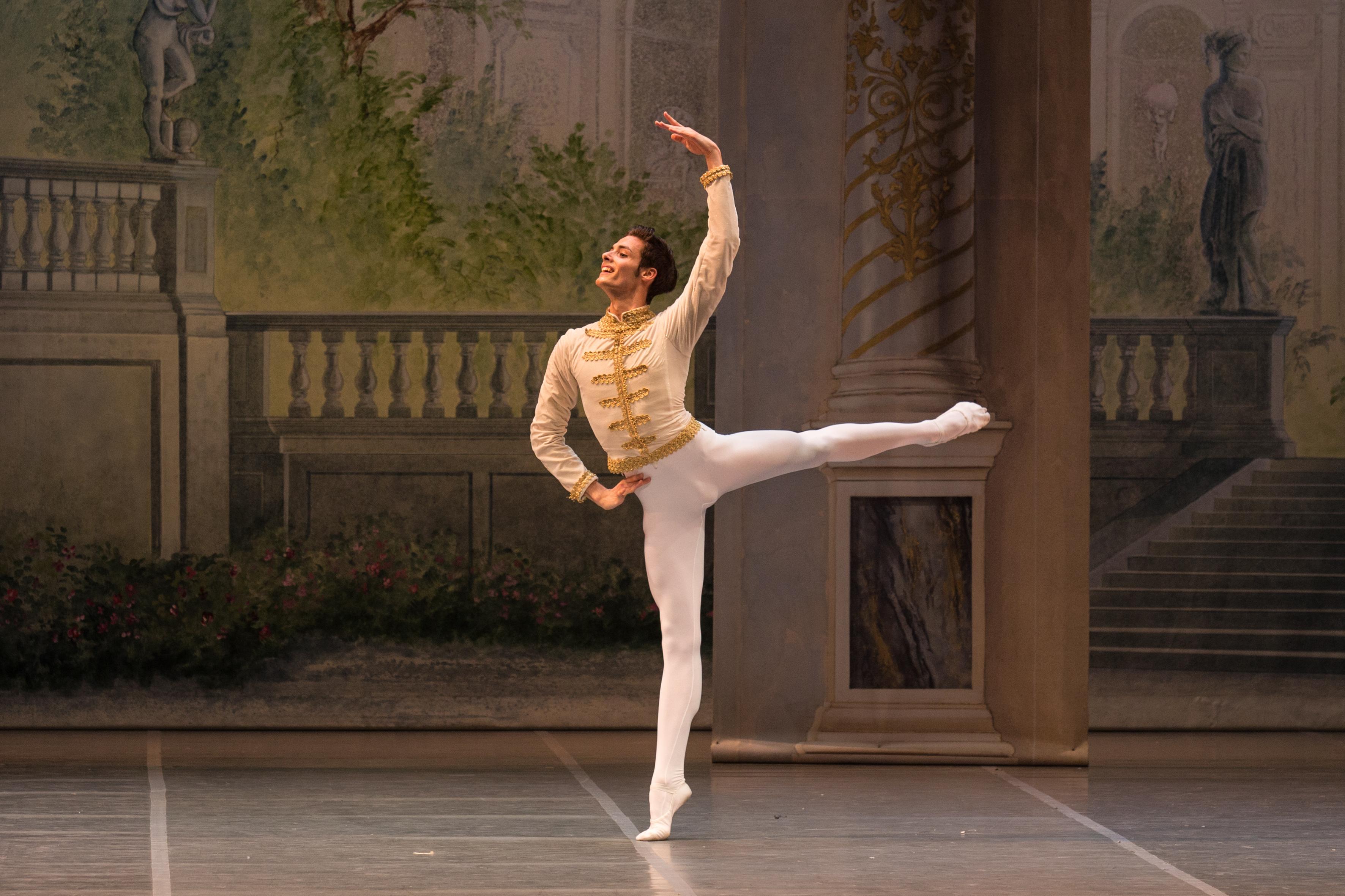 """Jacopo Tissi in """"Paquita""""."""