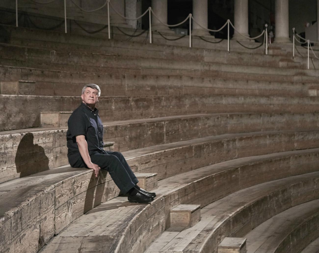 Aleksandr Sokurov al Teatro Olimpico di Vicenza.