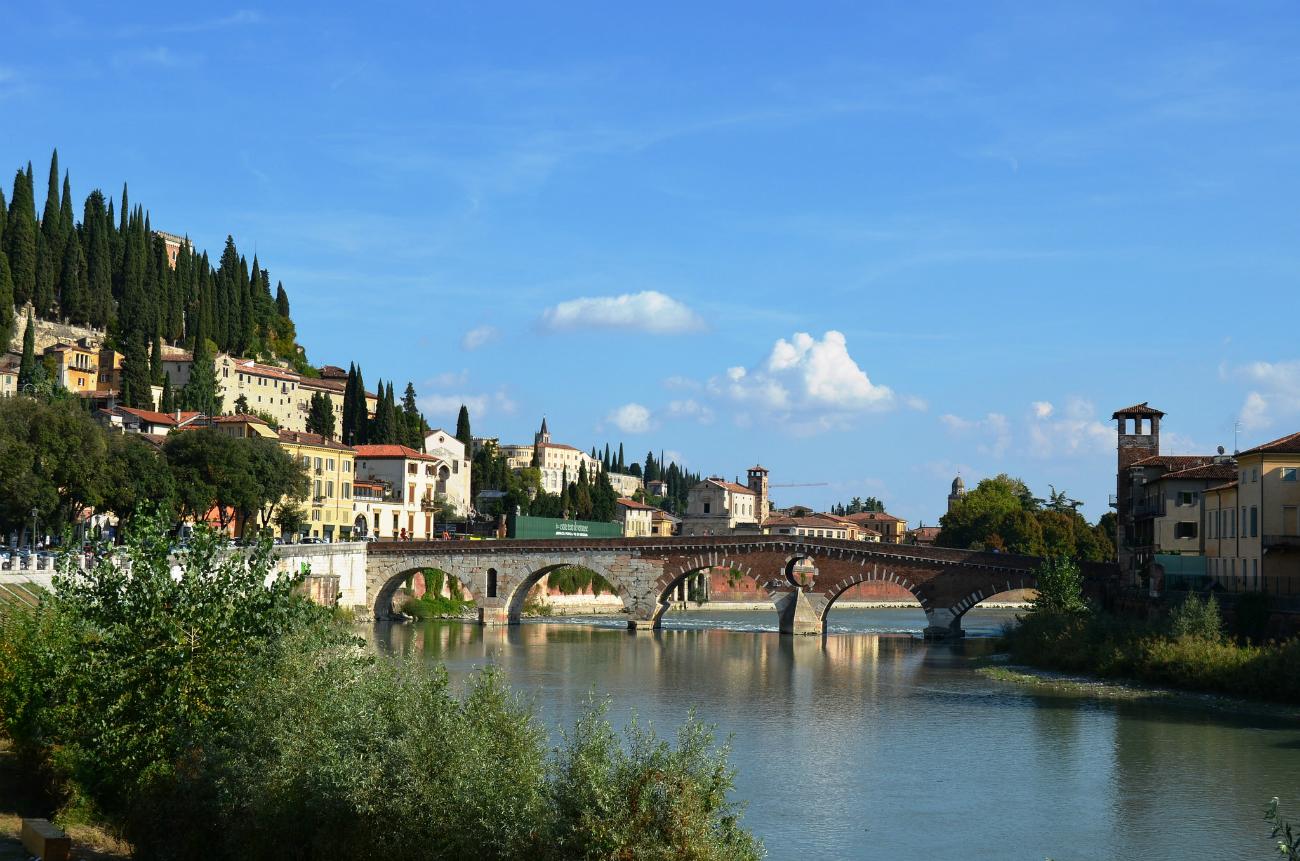 Uno scorcio di Verona che ha ospitato il Forum.