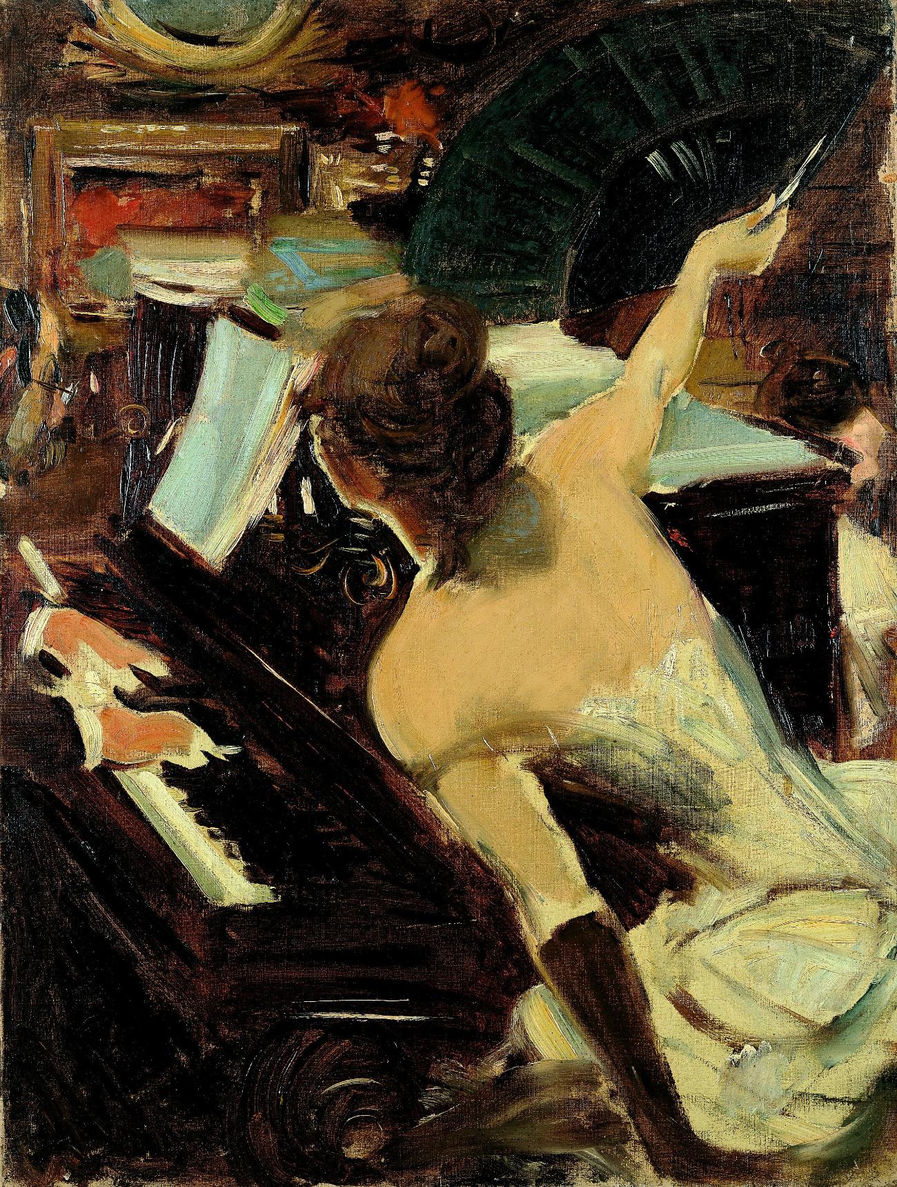 Cantante mondana, 1884 circa. Giovanni Boldini. Fonte: Ufficio stampa Ermitage