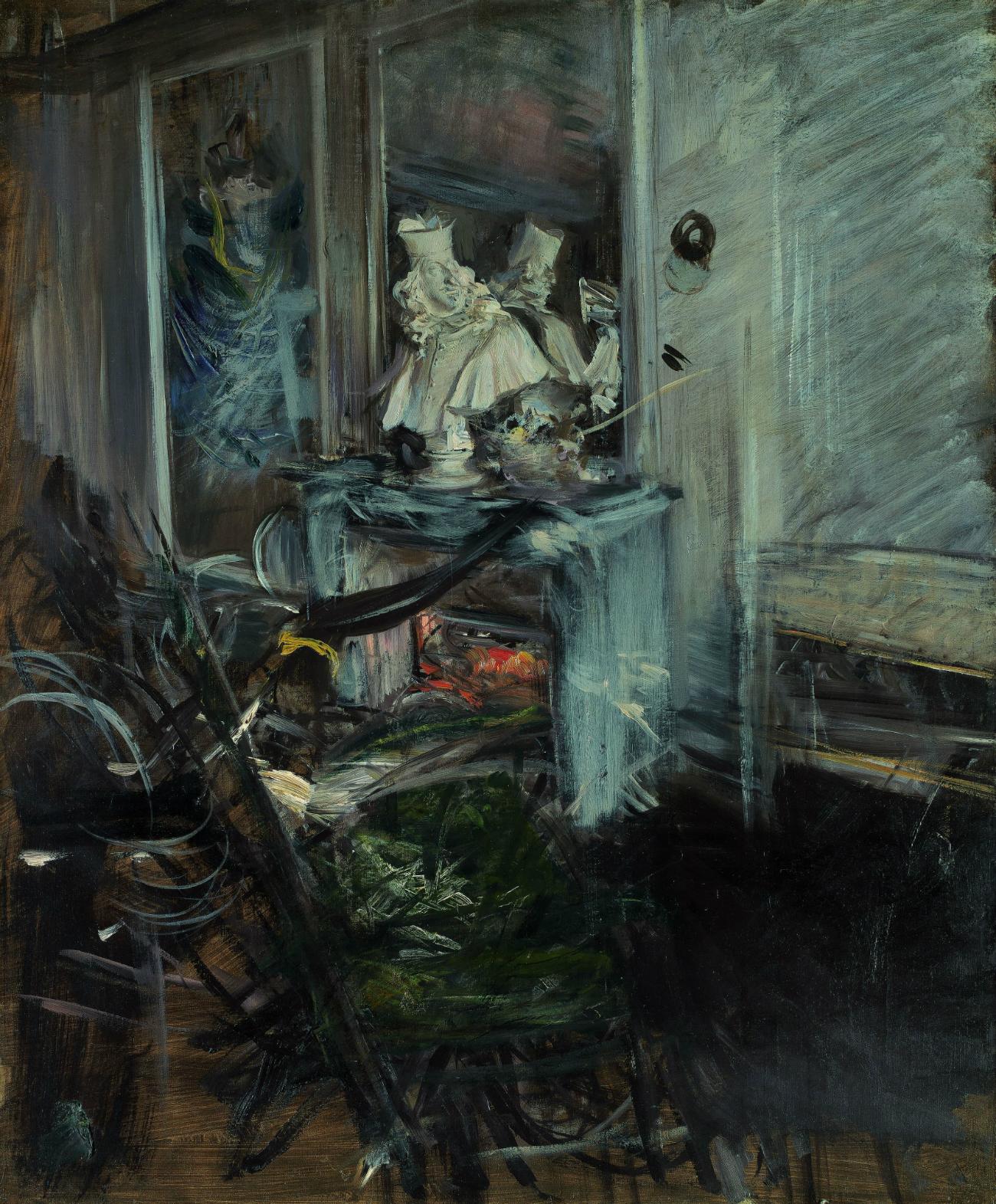 Un angolo della mensa del pittore, 1897. Giovanni Boldini. Fonte: Ufficio stampa Ermitage