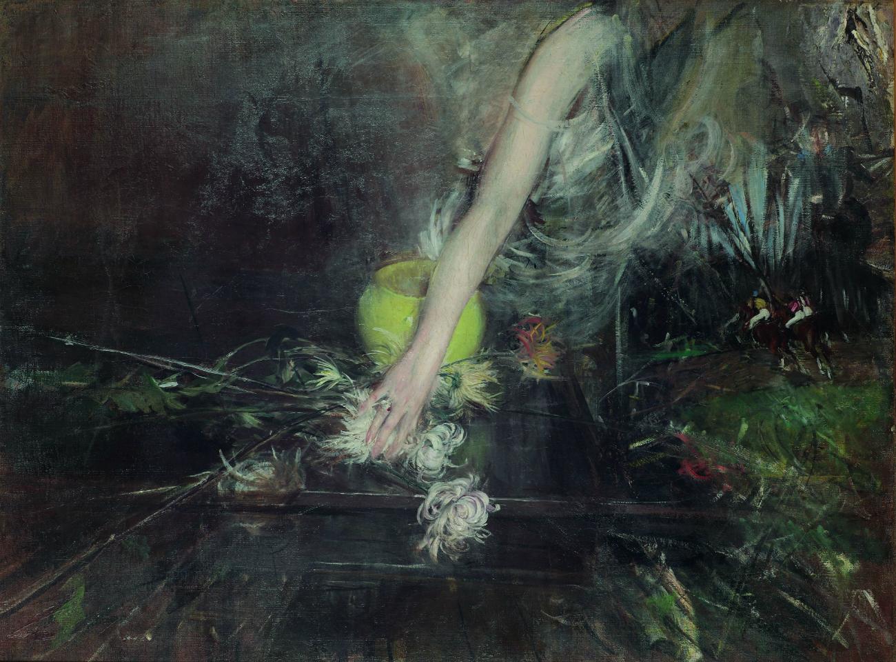 Braccio con vaso di fiori, 1910. Giovanni Boldini. Fonte: Ufficio stampa Ermitage