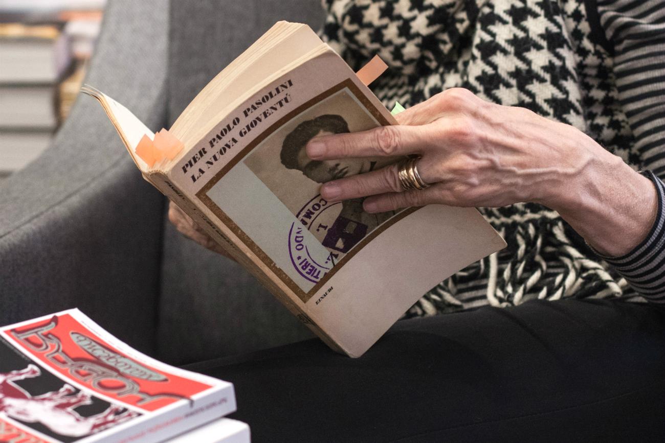 """""""La nuova gioventù"""", l'ultimo libro di poesie pubblicato in vita da Pasolini e oggi tradotto in russo."""