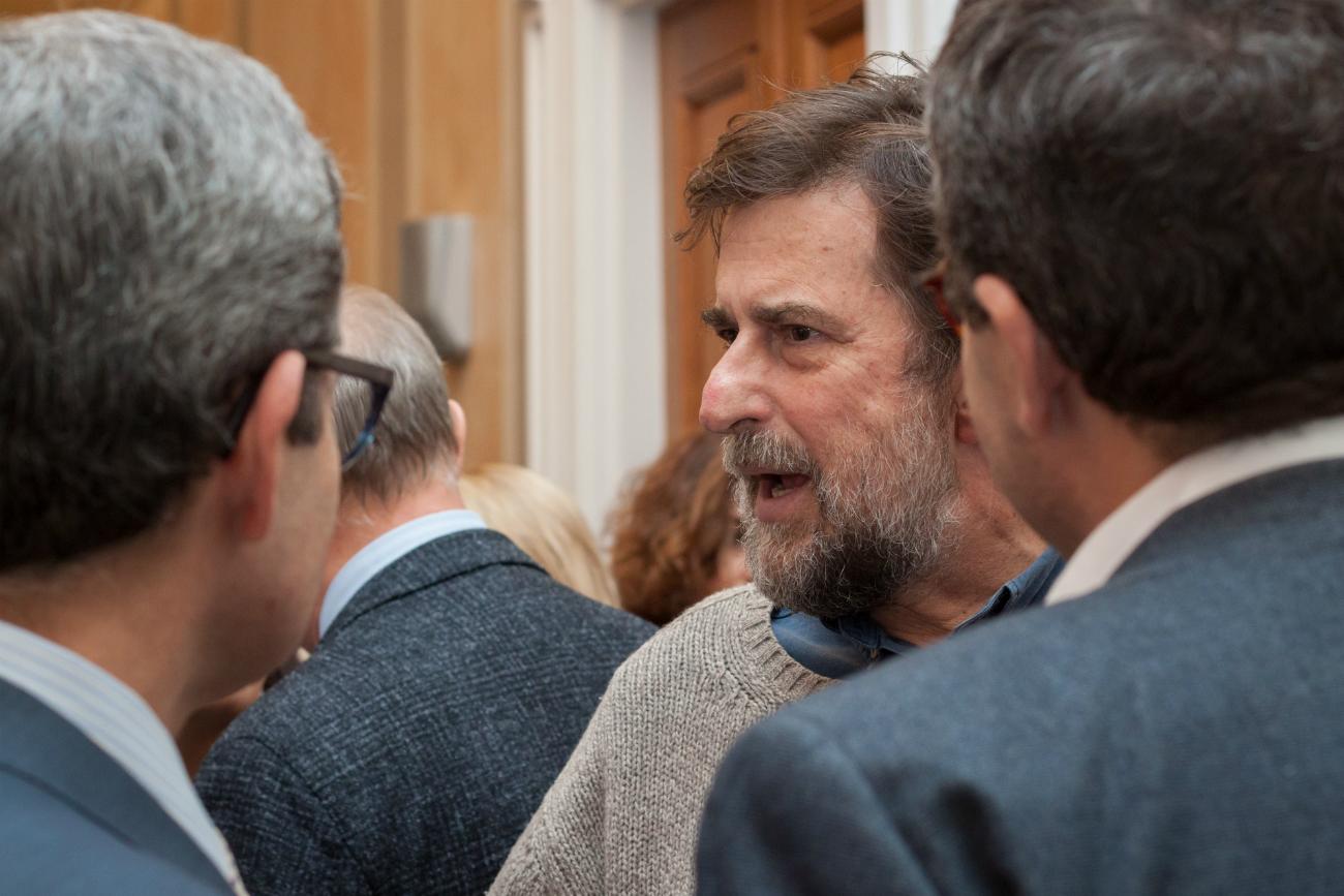 Il regista Nanni Moretti durante la sua visita a Mosca. Fonte: Vitalij Mikhajlyuk