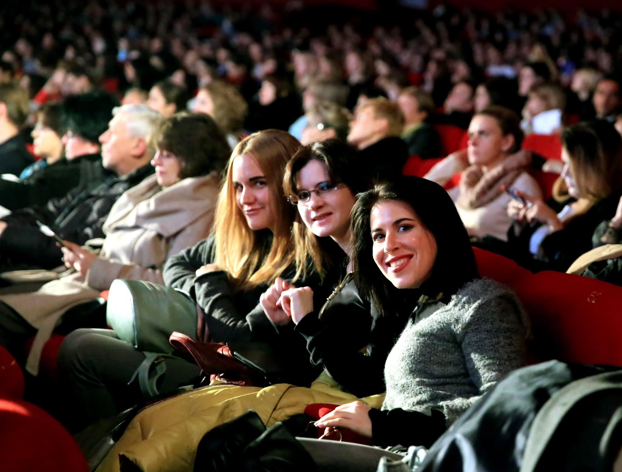 Alcuni momenti dell'inaugurazione del festival RIFF. Fonte: ufficio stampa\n