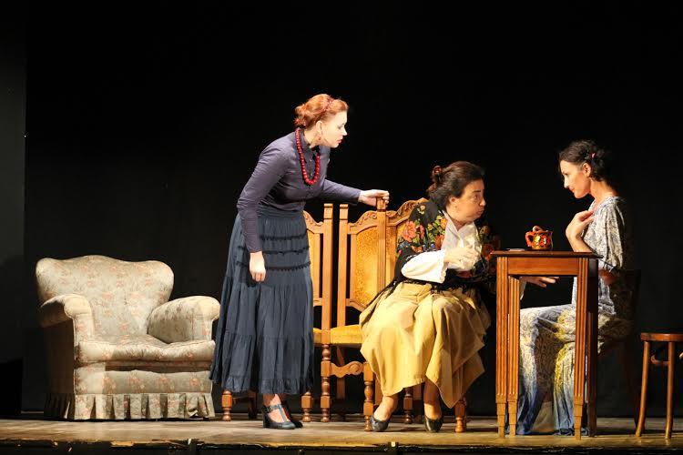 Una scena dello spettacolo.