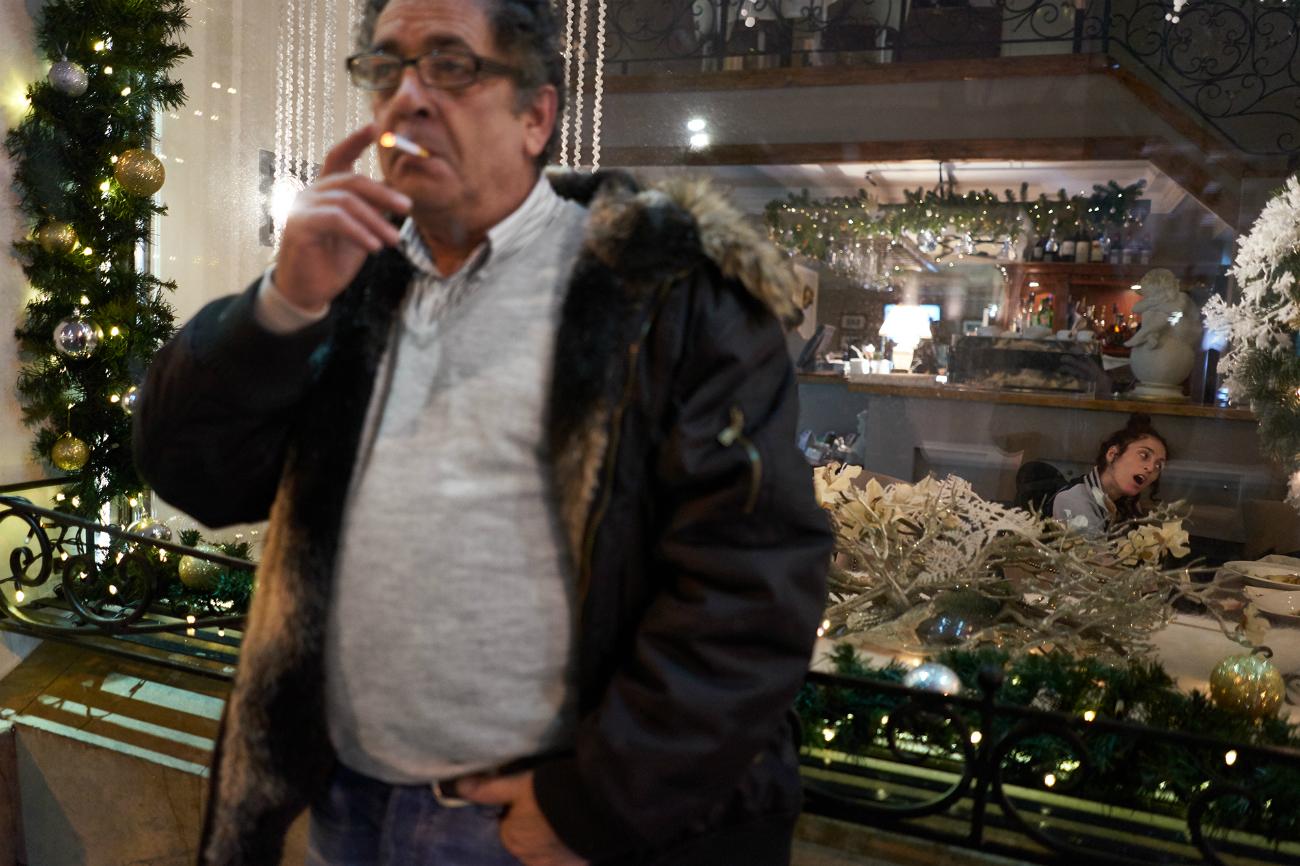"""""""Così mi sono messo in contatto con un centro per disabili della periferia di Roma dove ho conosciuto Letizia"""""""