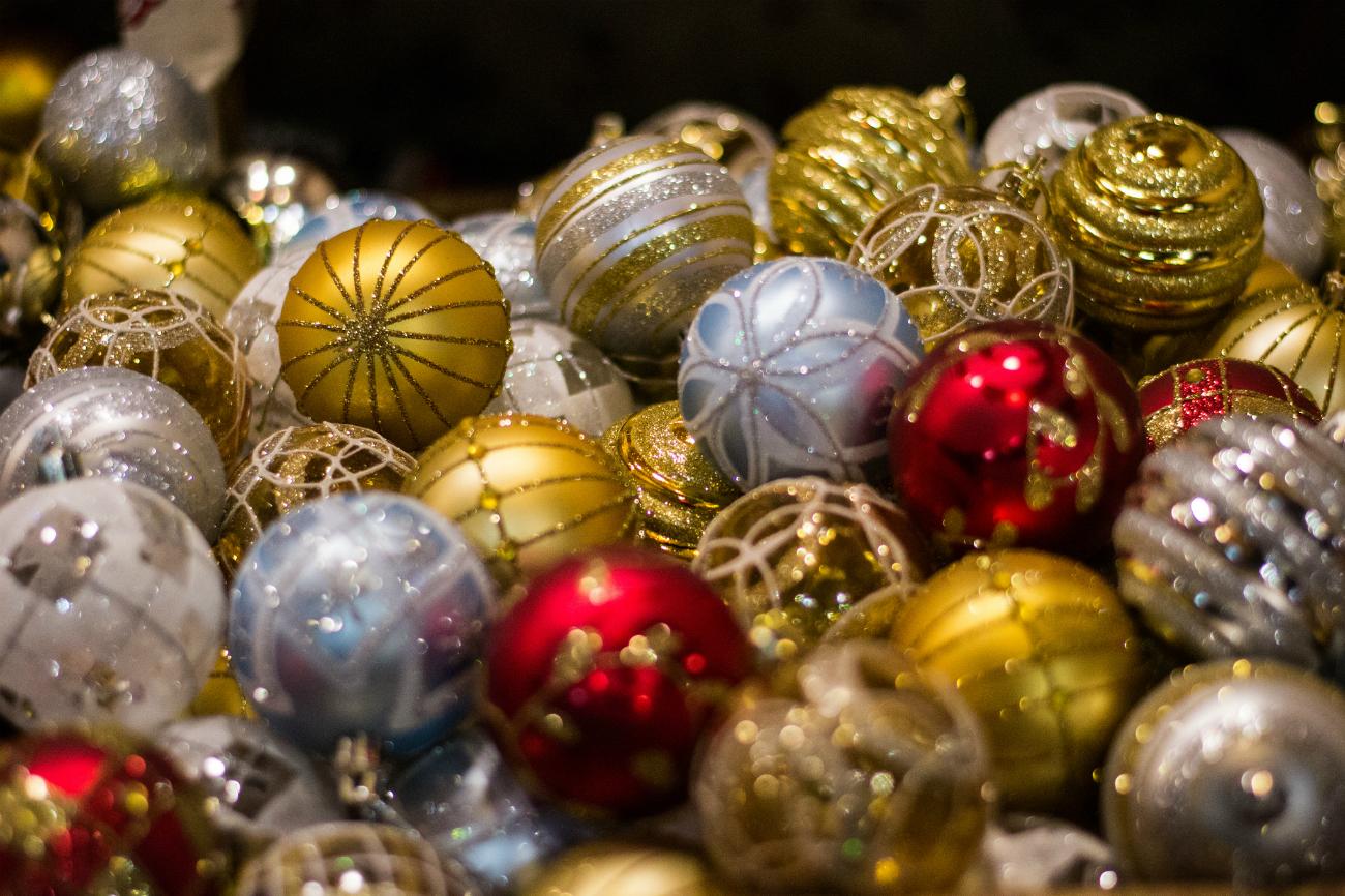 Decorazioni di Natale.
