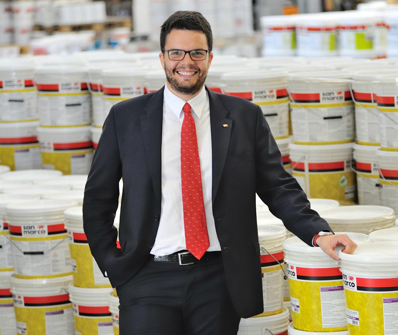 Pietro Geremia, direttore marketing di Colorificio San Marco S.p.A.