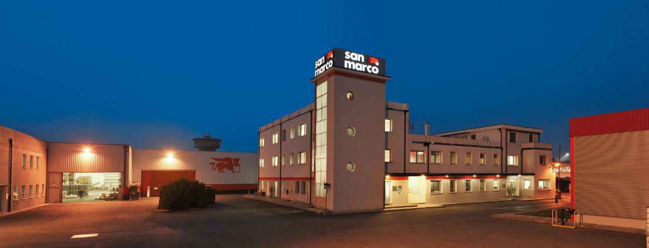 Gli edifici dell'azienda. Fonte: ufficio stampa
