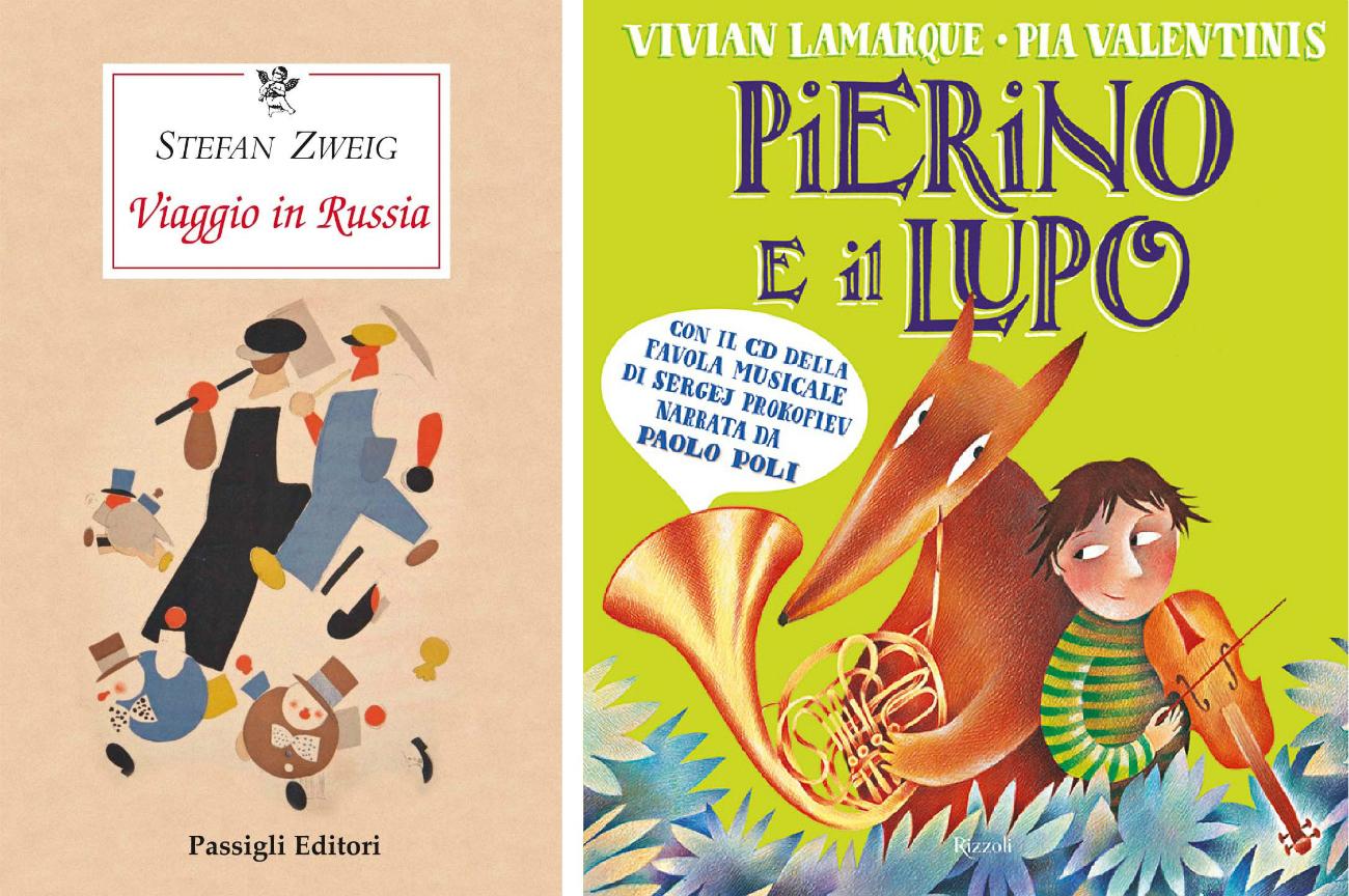 Le copertine dei libri. Fonte: ufficio stampa