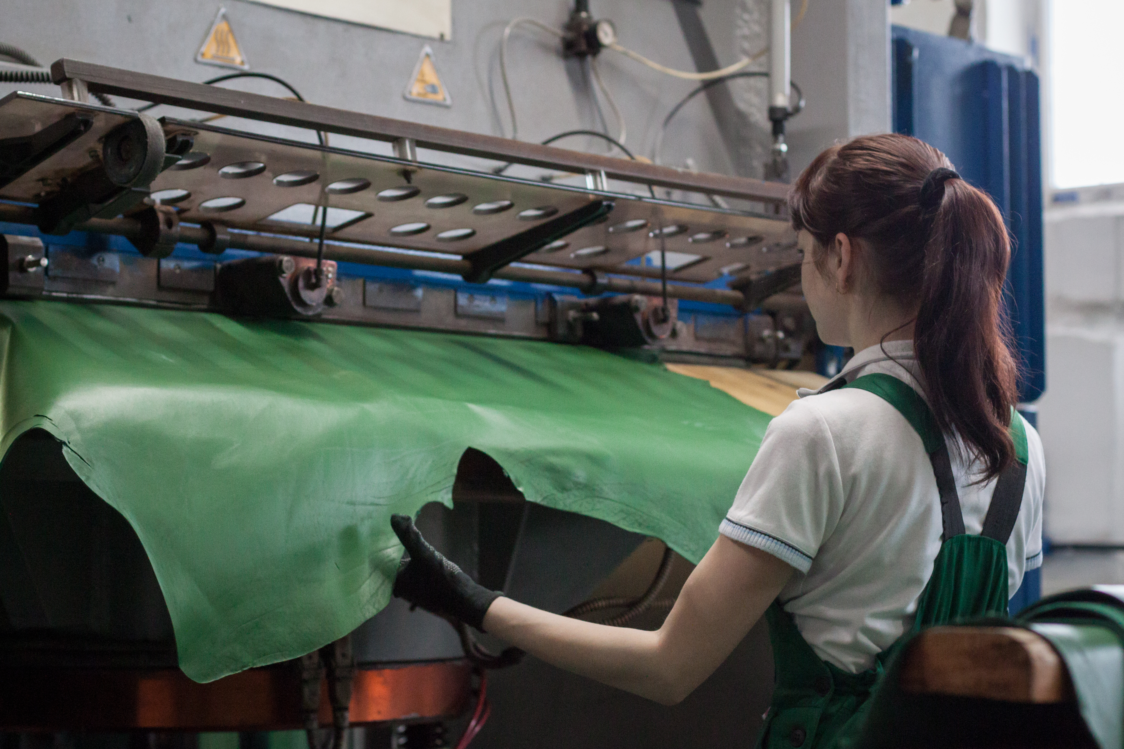 The plant's general director told RBTH that by 2019 the company hopes to capture 11 percent of the Russian market for natural and crust leather, squeezing out foreign suppliers who currently control 22 percent of the market.\n