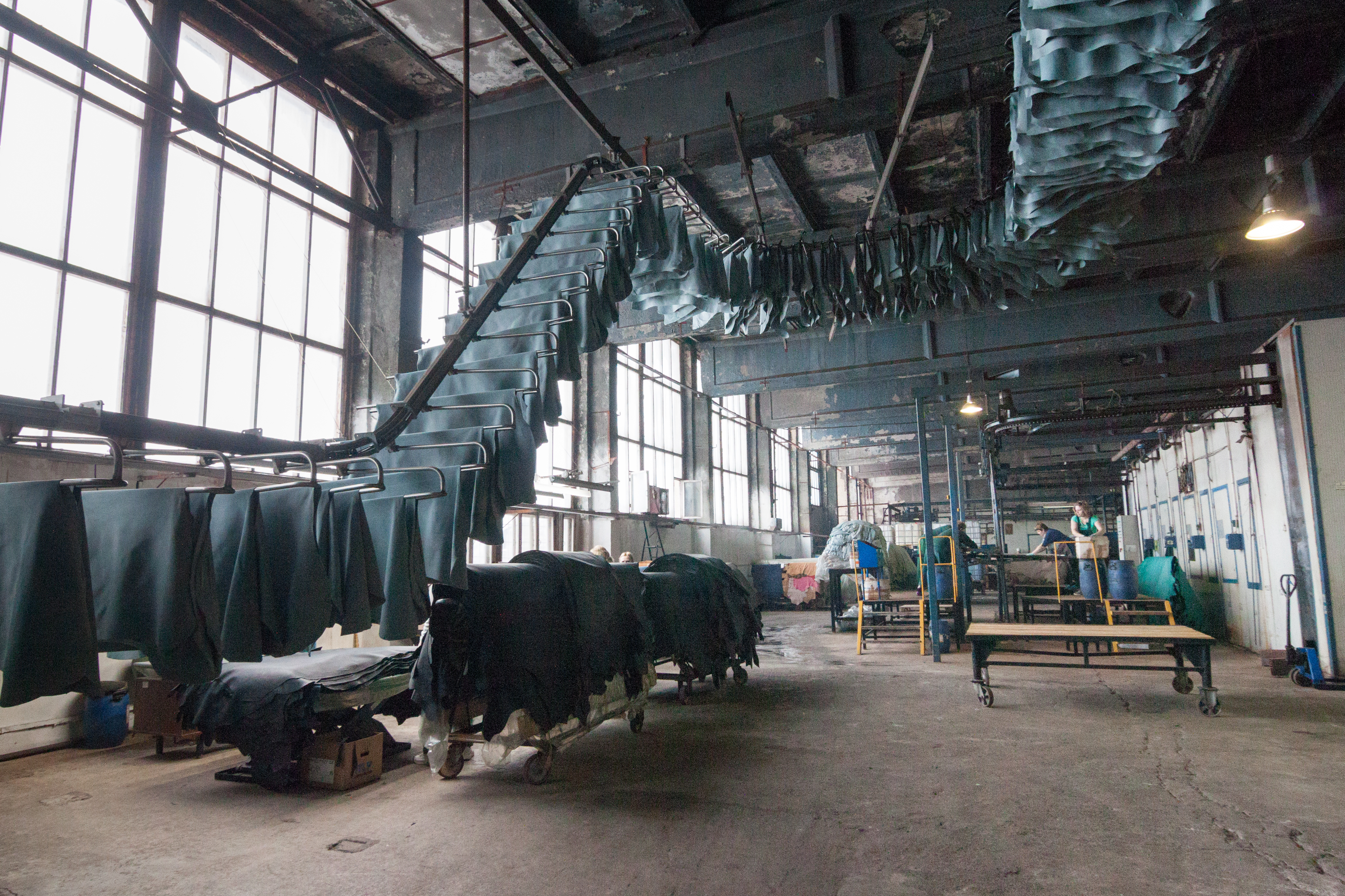 Although other production lines at the factory, which opened in 1994, also use Italian equipment, this new line will considerably increase opportunities for the plant.\n