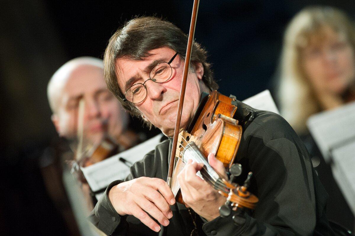 Il violista e direttore d'orchestra russo Yurij Bashmet. Fonte: Aleksej Molchanovskij