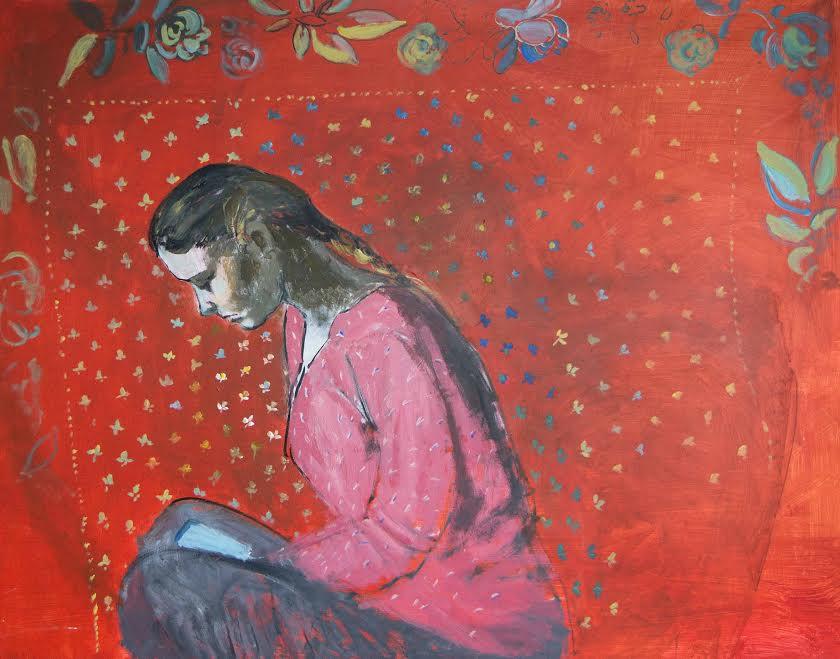 """""""La studentessa Sasha"""", Ekaterina Rozhkova."""