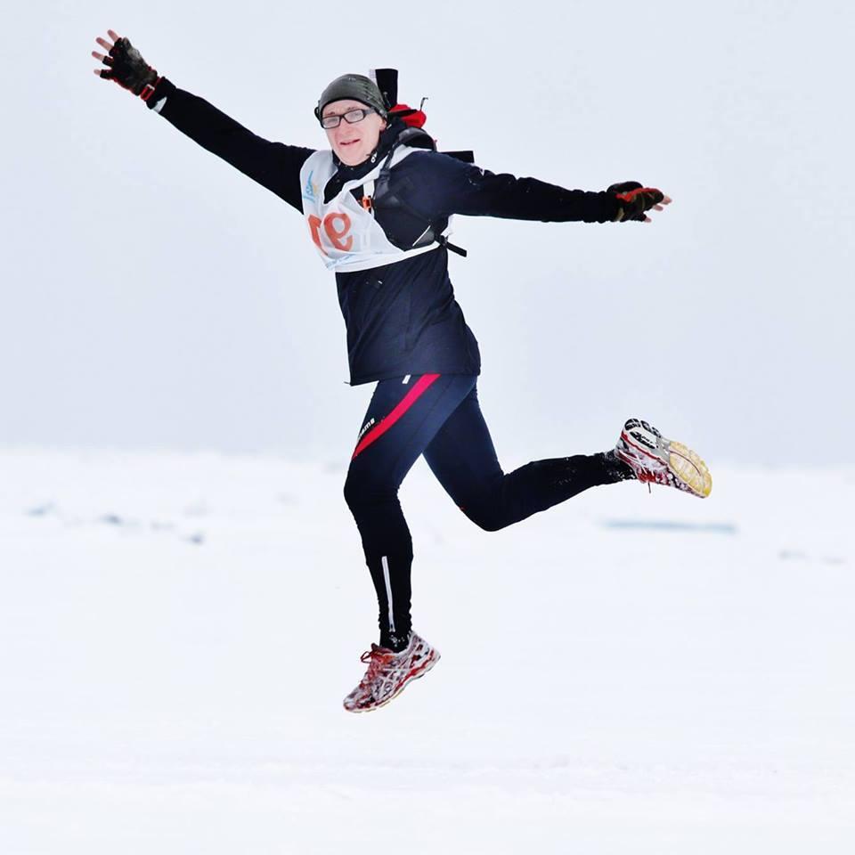 Il maratoneta russo Aleksandr Kaper. Fonte: ufficio stampa