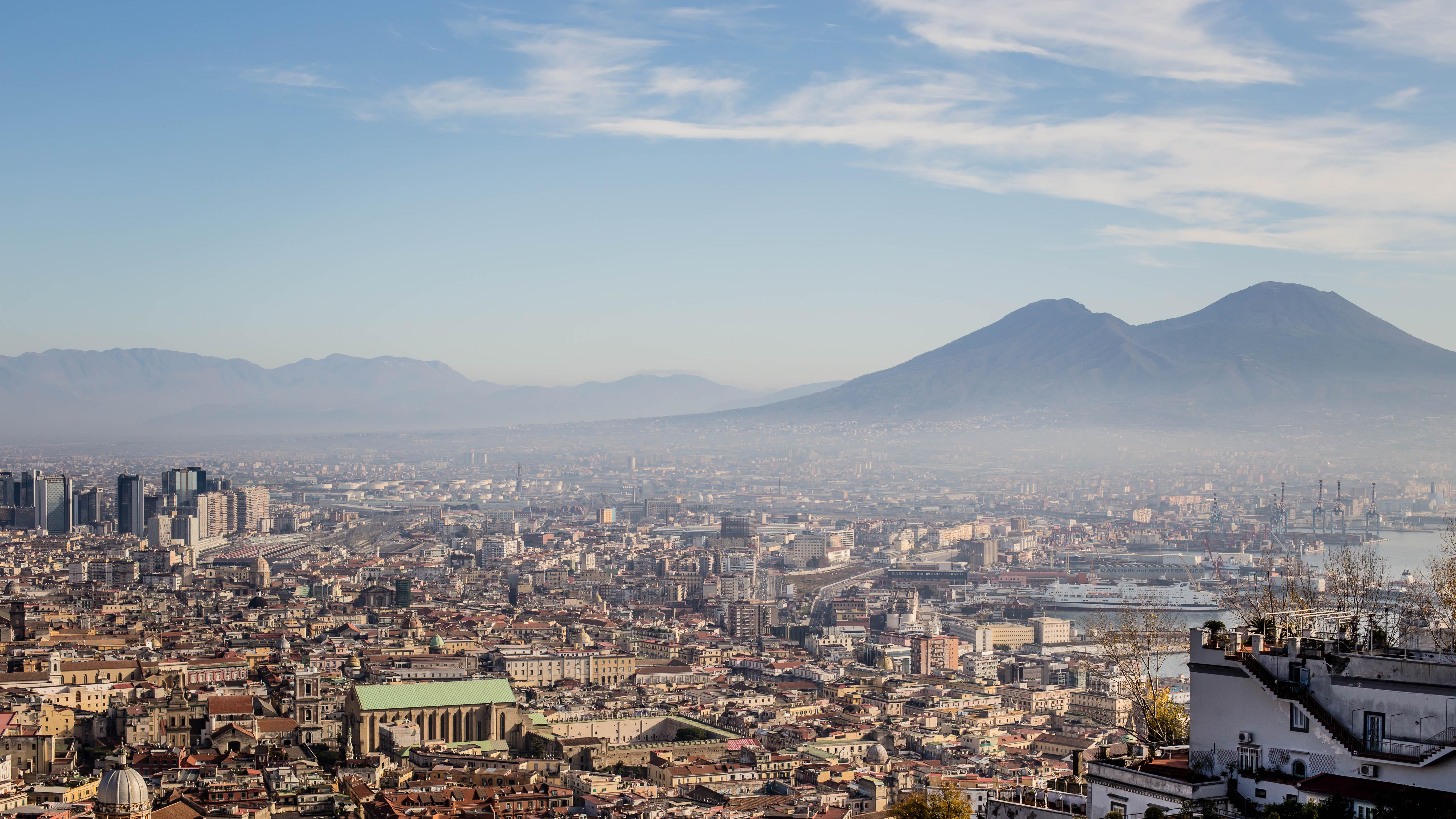 Napoli dall'alto.