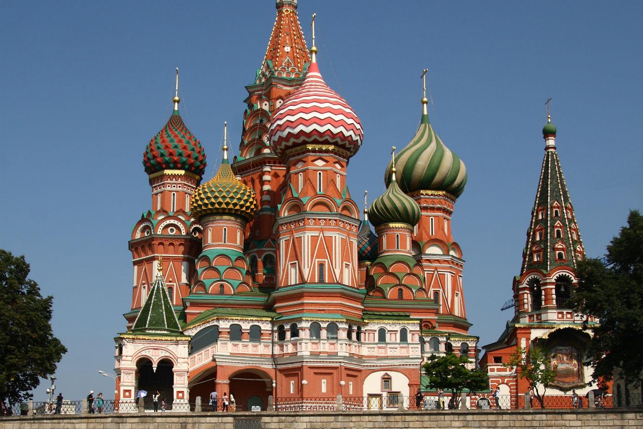 La cattedrale di San Basilio in Piazza Rossa a Mosca. Fonte: Ivano Dei Giudici