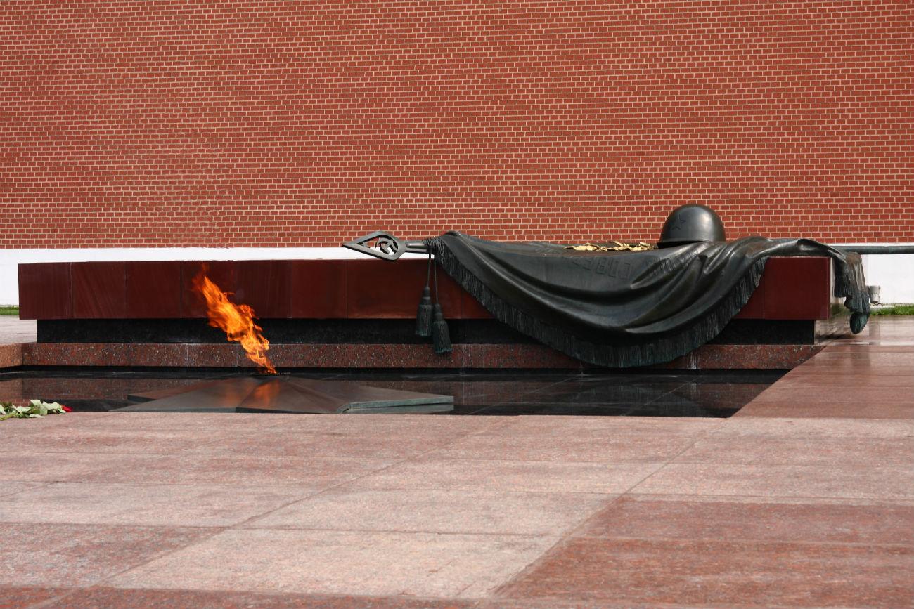 Monumento al milite ignoto, Mosca. Fonte: Ivano Dei Giudici