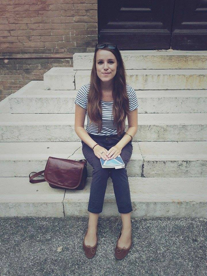 Iris Karafillidis, 25 anni di Ferrara, si trova a San Pietroburgo per motivi di studio.