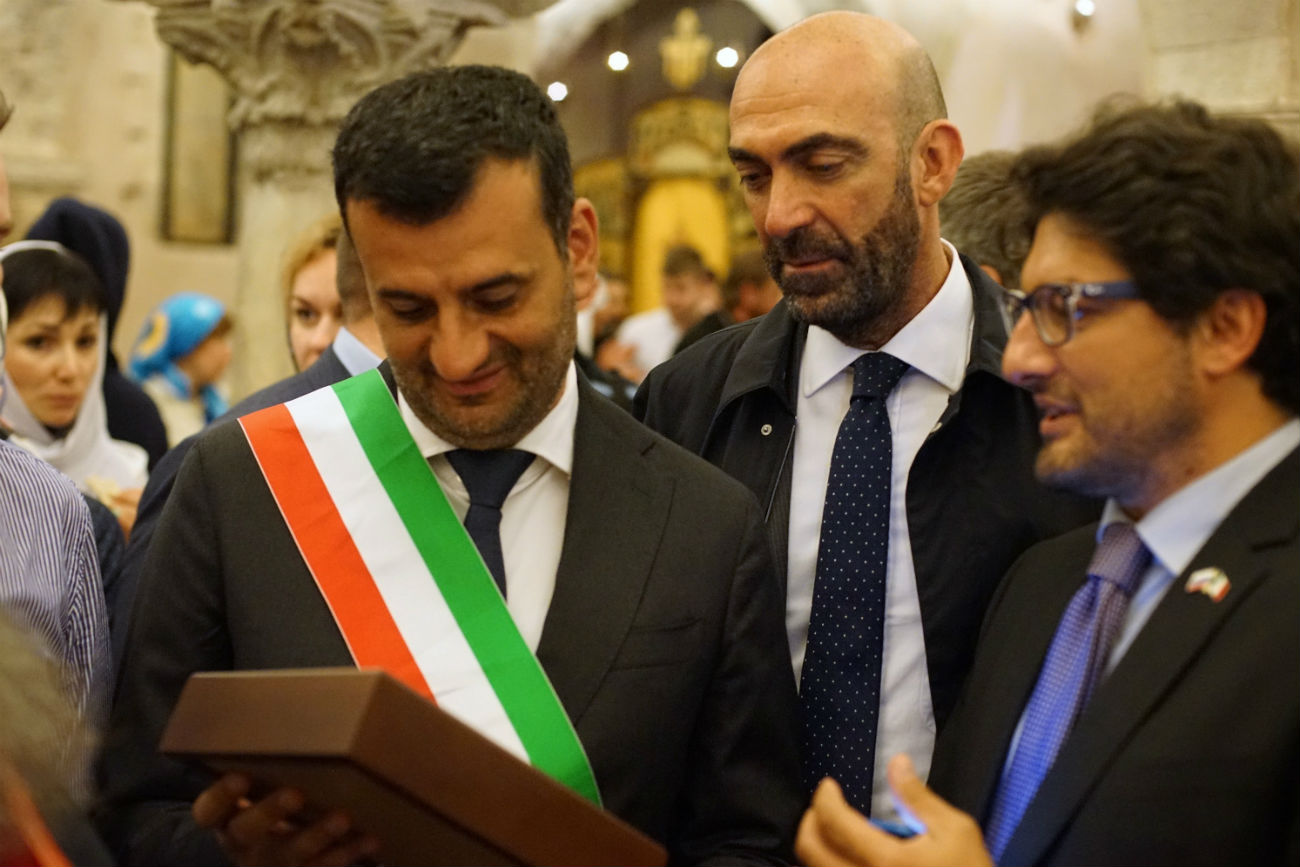 Il sindaco di Bari Antonio Decaro\n