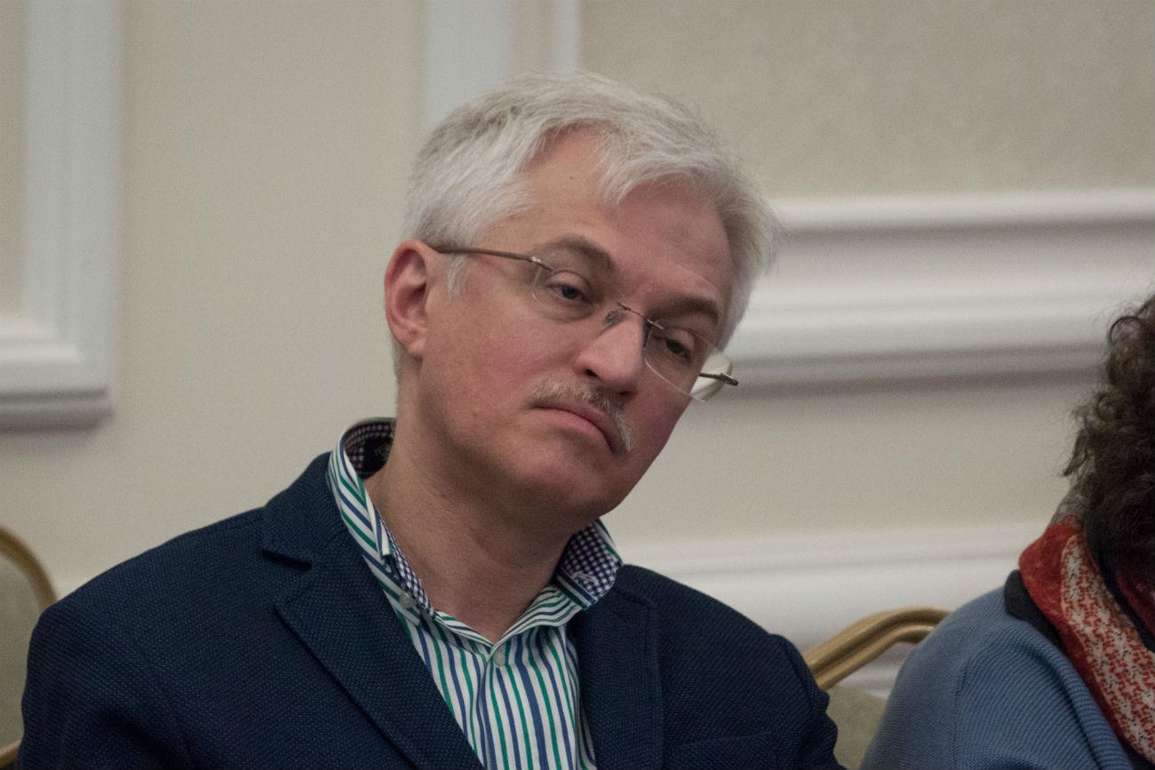 Roman Govorukho, direttore del Centro russo-italiano dell'università Rggu di Mosca. Fonte: Vitalij Mikhajlyuk