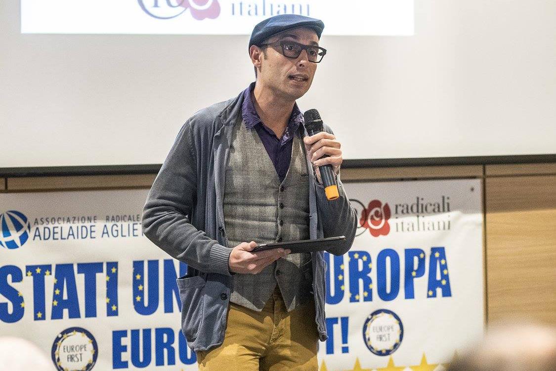 Yuri Guaiana, membro del direttivo dell'associazione radicale Certi Diritti.