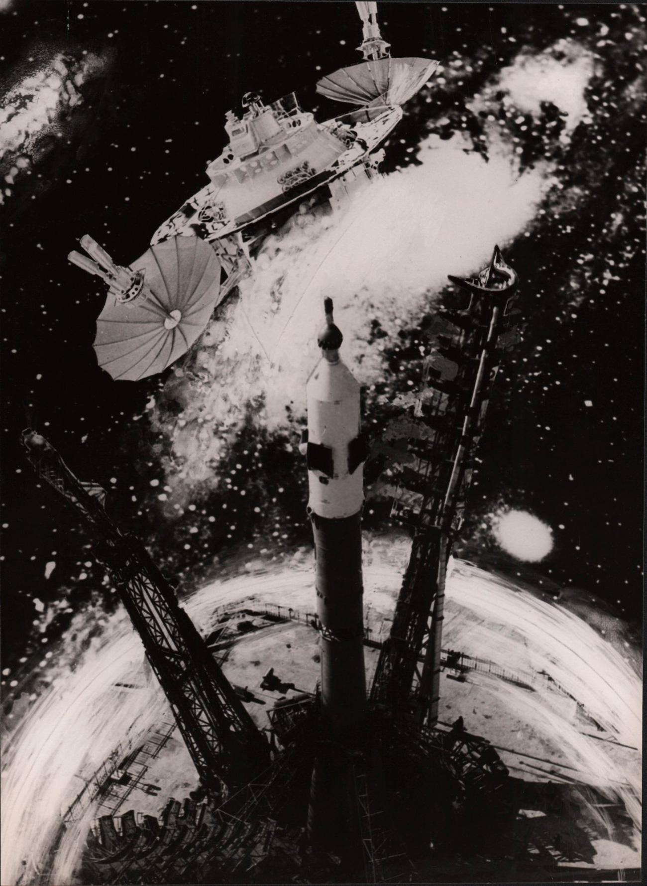 As imagens compõem reportagens fotográficas feitas por profissionais que a agência de notícias Tass, parceira do projeto, e a Voks (associação soviética para relações culturais no exterior) enviavam periodicamente para a Itália para que, por meio da organização de exposições itinerantes, fosse apresentada a realidade soviética.