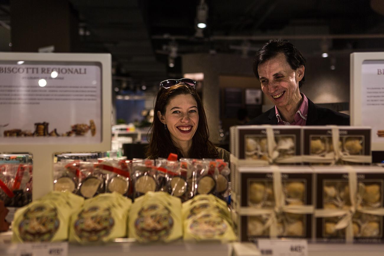 Il polo gastronomico di Oscar Farinetti è stato aperto al quarto piano del nuovo centro commerciale Kievskij, situato vicino all'omonima stazione della metropolitana, a pochi chilometri dalla Piazza Rossa