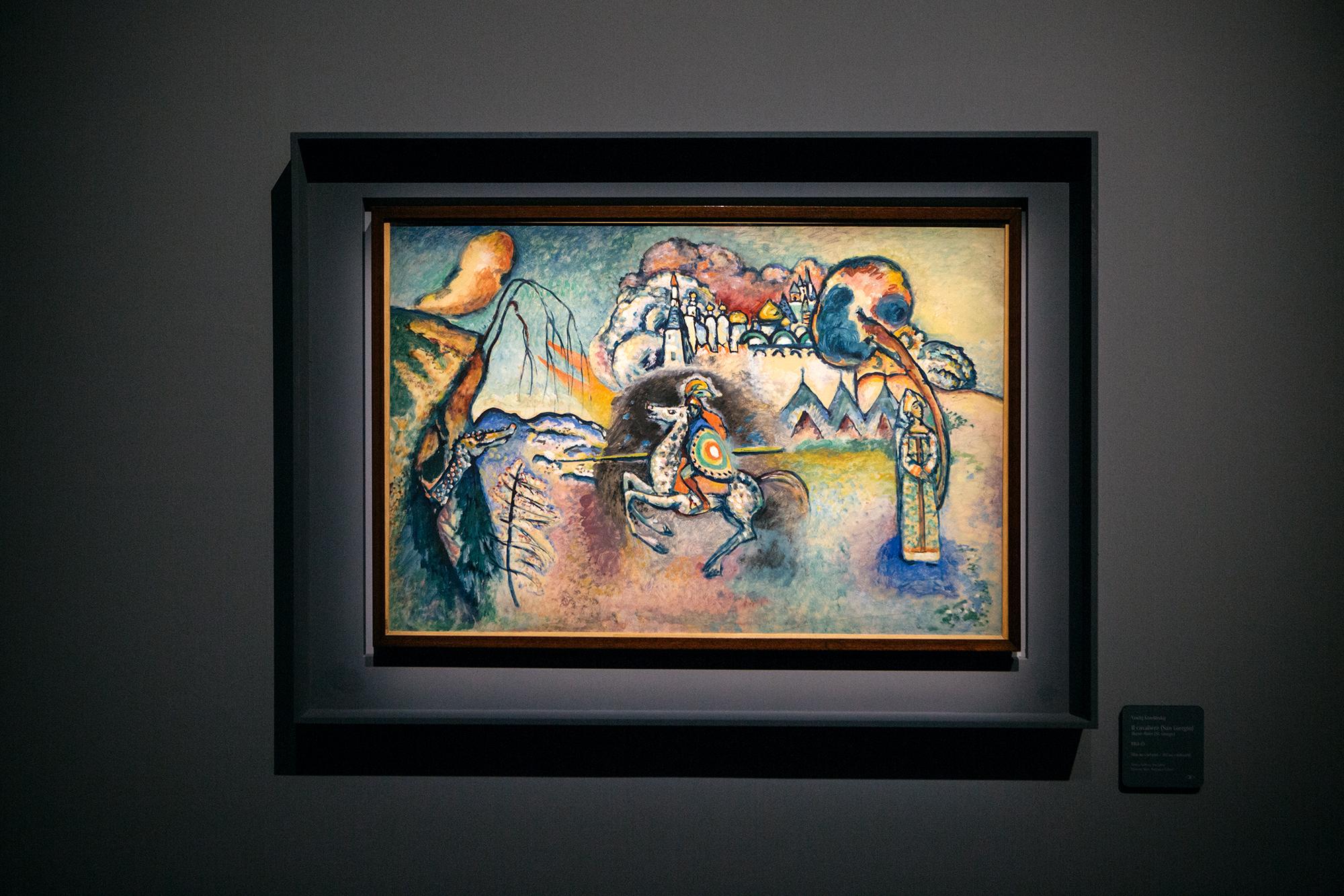 """L'esposizione vuole raccontare il """"periodo del genio"""" dell'artista russo, ovvero quel percorso che lo porta alla svolta completa verso l'astrazione"""