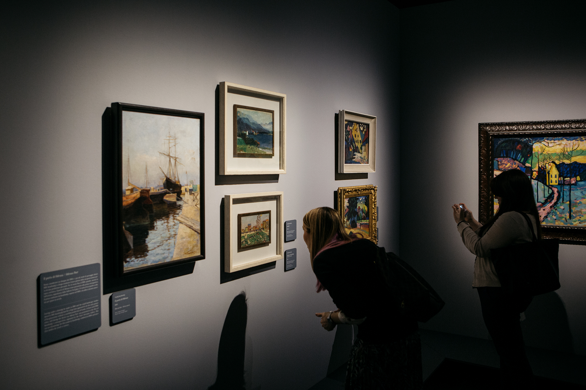 Le opere, alcune delle quali mai viste prima in Italia, provengono dai più importanti musei russi come l'Ermitage di San Pietroburgo e la Galleria Tretyakov di Mosca