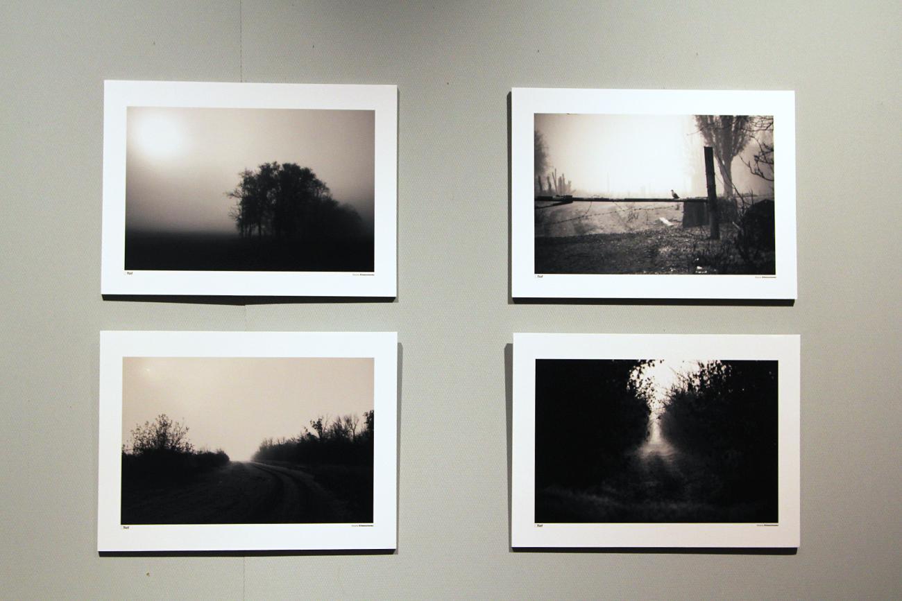 """A """"Orvieto Fotografia"""" c'è stato spazio anche per le autrici: tra queste Alyona Klimenchencko . Foschia, strade di campagna, luci, ombre"""
