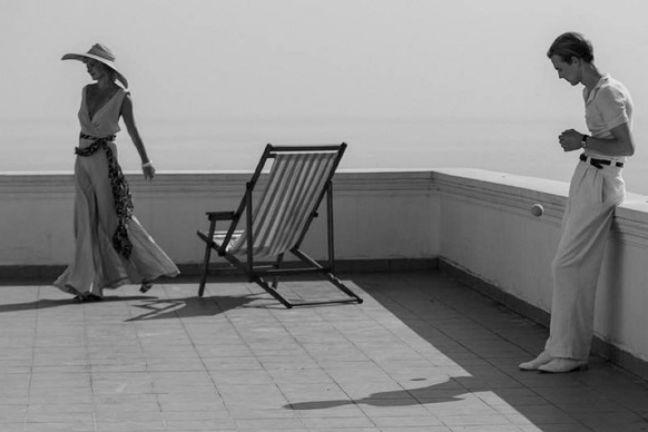 """Una scena tratta dal film """"Raj"""" (Paradiso) di Andrej Konchalovskij."""