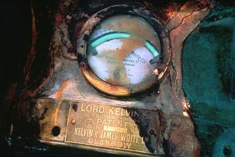 タイタニックの電気メーター =Corbis/Photosa撮影
