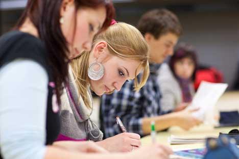 ロシアの教育観が日本とは根本的に違う。=PhotoXPress撮影
